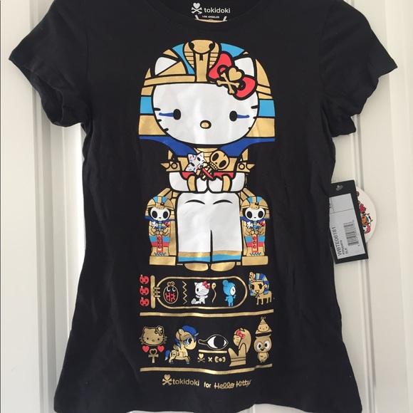 640a55d90aa0f Tokidoki Kittypatra Shirt Hello Kitty SDCC XS